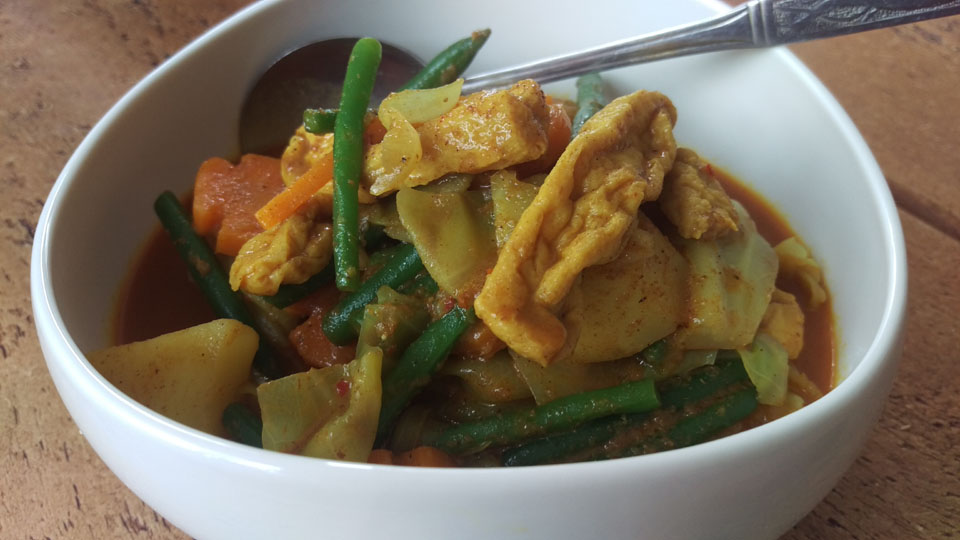 Mamatan's Vegetarian Curry!